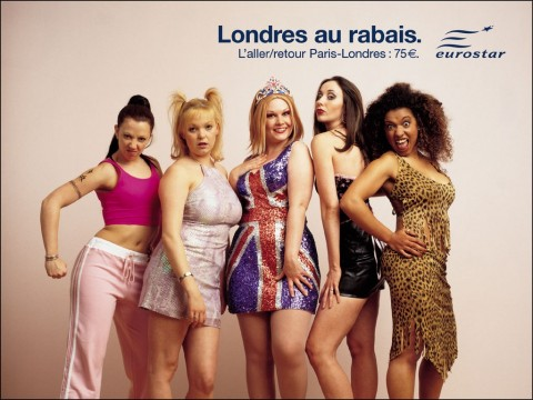 caricature des spice girls