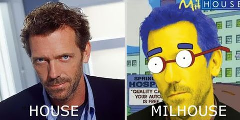 doc House transformé en milhouse